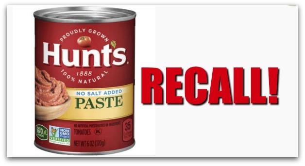 Mold Risk Results in Tomato Paste Recall