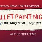 Owasso High School Show Choir Pallet Paint Night Fundraiser