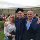 Garrett Nichols Receives Bachelors Degree in Psychology and Criminal Justice from Trine University