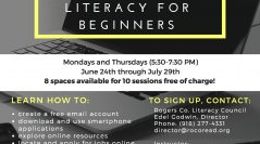Computer Literacy for Beginners Class Begins June 24 in Claremore