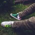 Paint it Forward:  Local Shop Paints Shoes for Charity