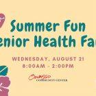 Free senior health fair scheduled at the Owasso Community Center.