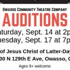 """Owasso Community Theatre Company Auditions for """"Number the Stars"""" Begin Saturday"""