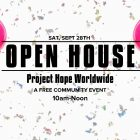 Project Hope Worldwide Schedules Open House