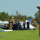 Plane Overshoots Runway at Gundys Airport in Owasso