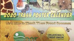 Continue to spread the cheer of a litter-free Oklahoma through a new Trash Poster Calendar