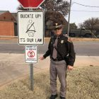 """Oklahoma Highway Patrol Joins """"Drop it and Drive"""" Campaign"""