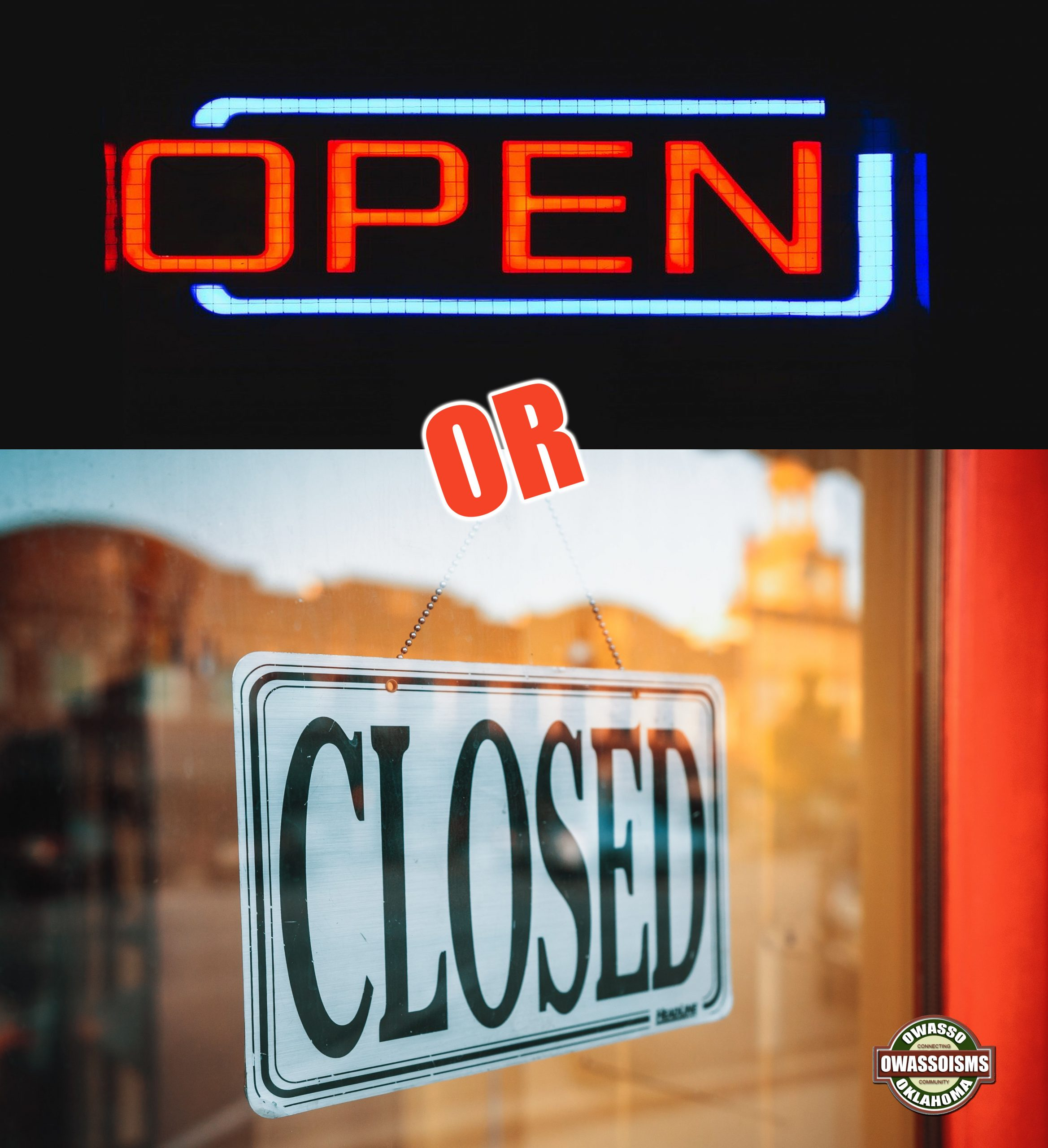 Open or Closed May 1? What About Your Favorite Local Restaurant?