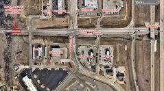 Section of 116th Street North to Close Evening of May 27th