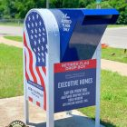 Owasso Eagle Scout Creates Retired Flag Drop Box for VFW