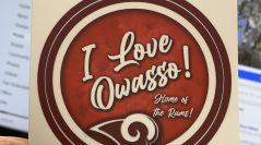 """ I Love Owasso"" Vinyl Decals Now Available"