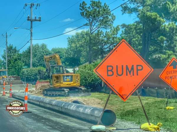 Garnett Road to Close Monday Night in Construction Zone