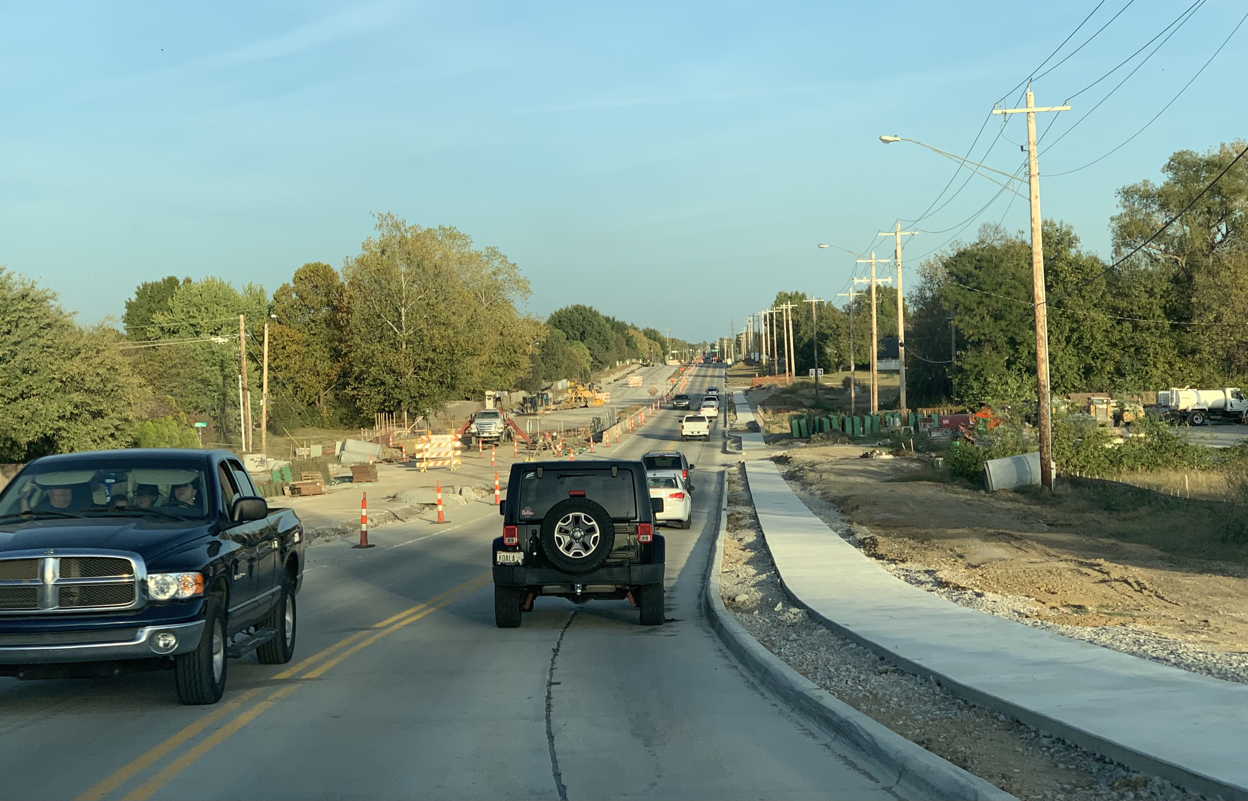 76th Street North Widening Project Traffic Delays The Week of October 19th