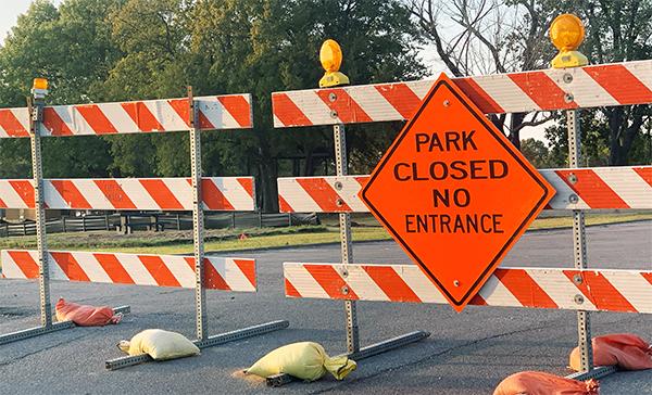Elm Creek Park Closed as Renovations Begin