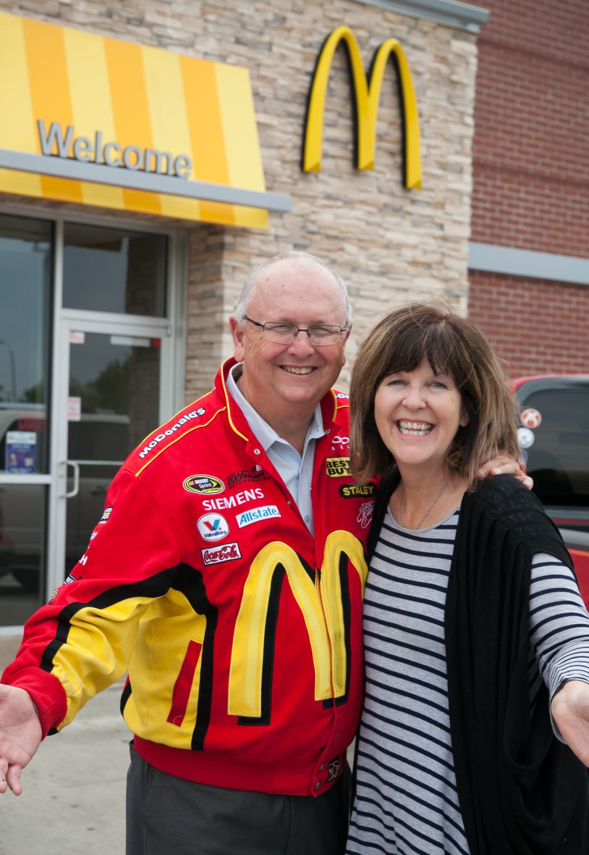 Local McDonald's Owners Tim and Patty Rich Retire