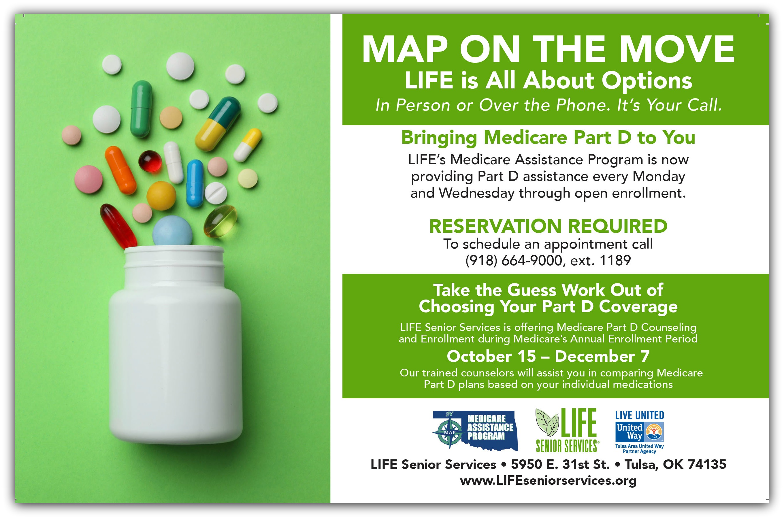 Medicare Part D Information Available at the Owasso Community Center