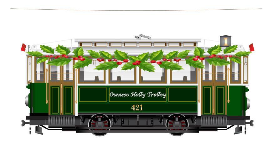 Owasso Holly Trolley Will Return for a 15th Holiday Season