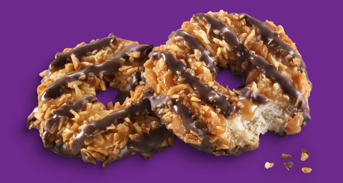 IT'S GIRL SCOUT COOKIE TIME!