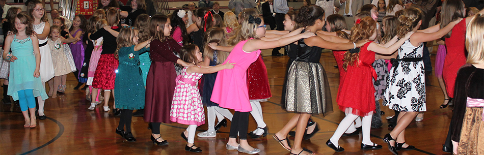 Pamela Hodson Elementary held a Holiday Dance for Hodson Daughters and their Guests