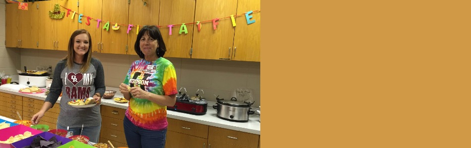 Hodson Elementary honored its teachers and staff during Teacher Appreciation Week