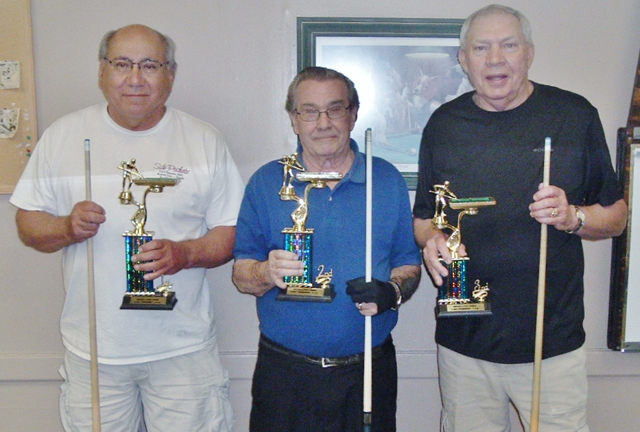 Owasso Community Center Hosted Senior Pool Tourney for Four State Region