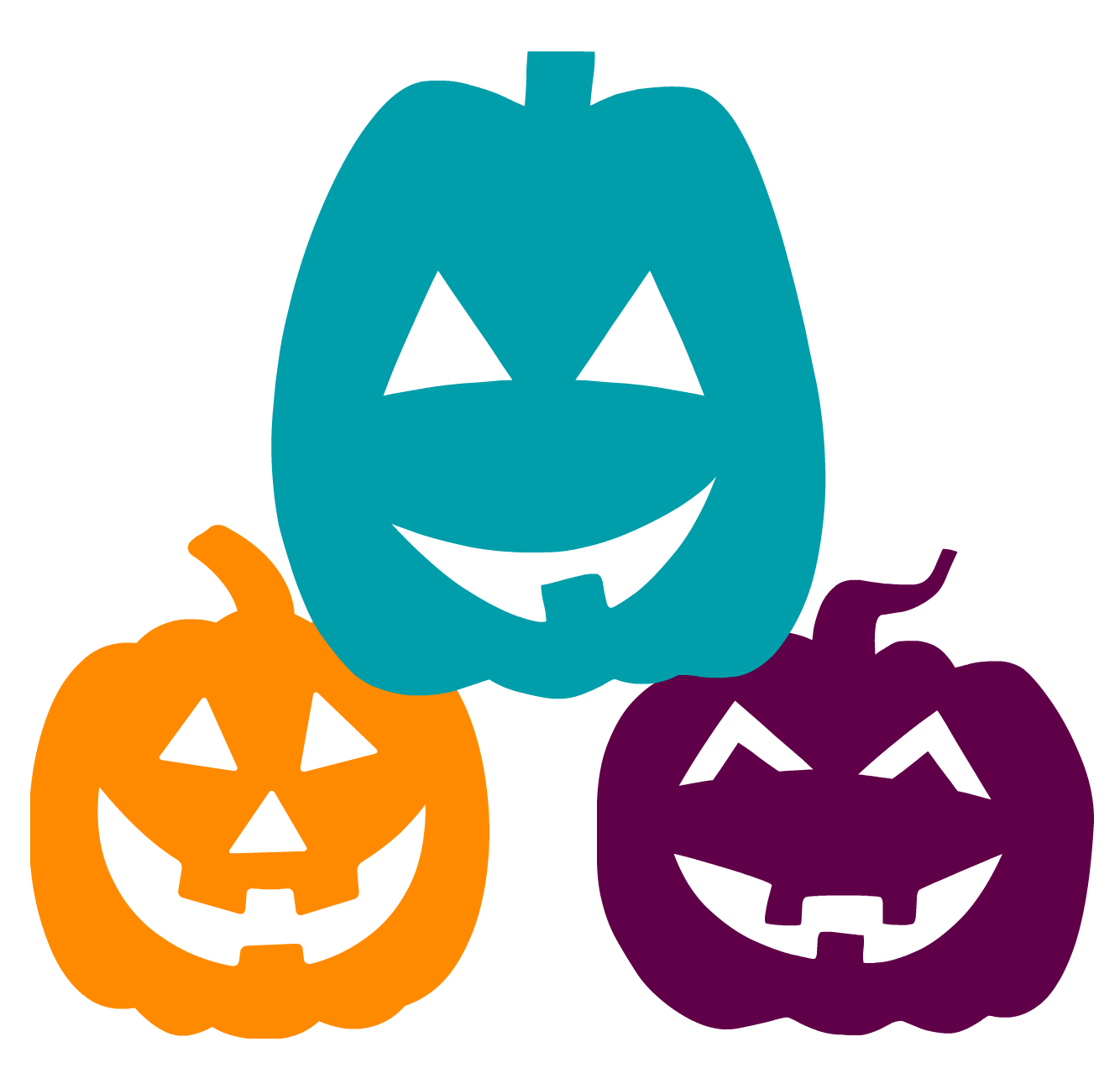 Teal Colored Pumpkins this Halloween and What they Mean