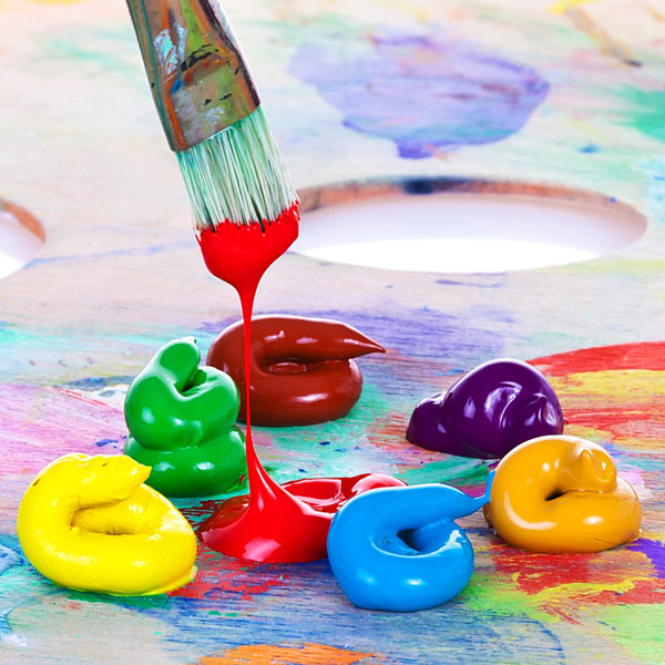 Elementary Painting Class offered at the Owasso Community Center in October