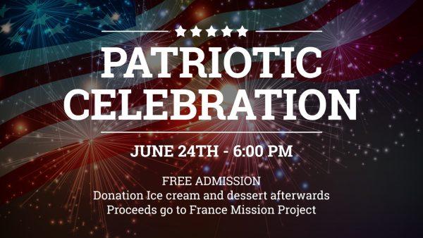 Rejoice Church to Host Patriotic Celebration June 24