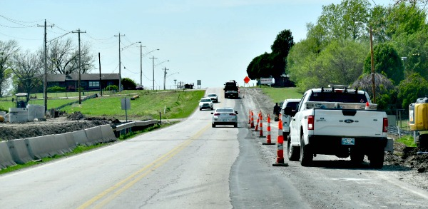 Overnight Concrete Paving on 76th Street This Week