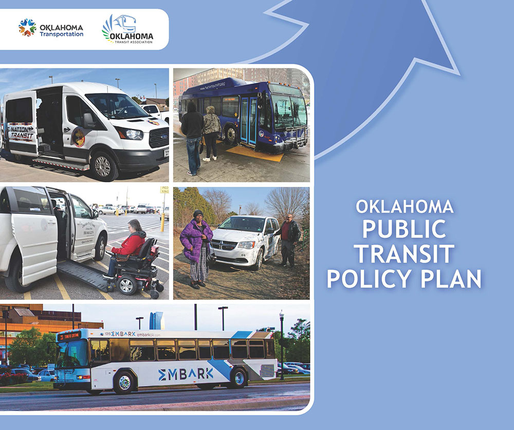 State's first draft public transit plan released by ODOT and Oklahoma Transit Association, public urged to give feedback