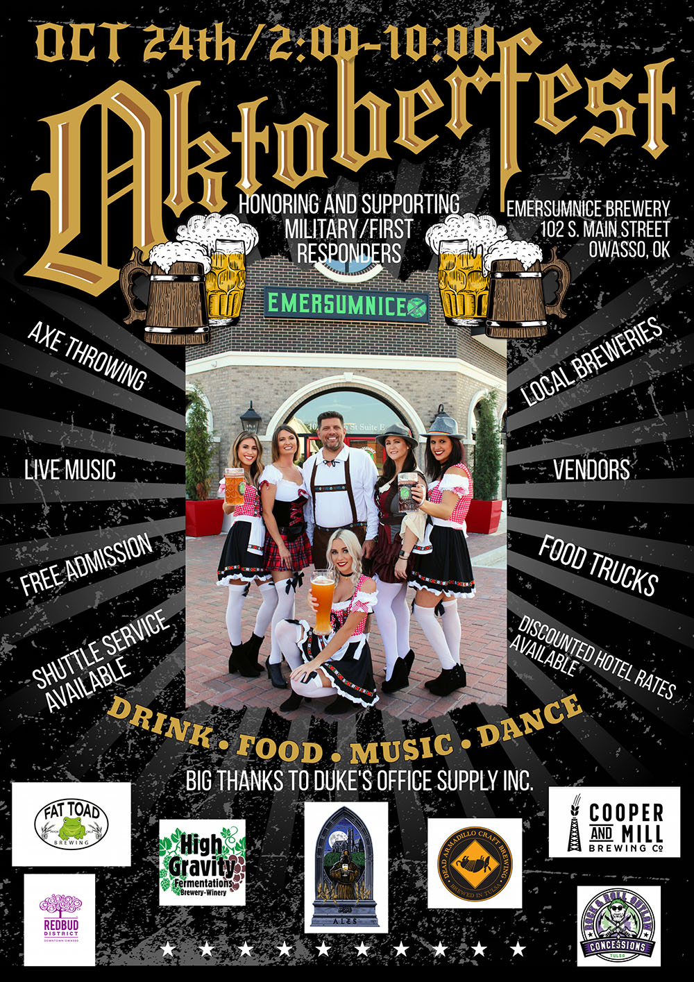 Owasso Octoberfest Fundraiser Saturday
