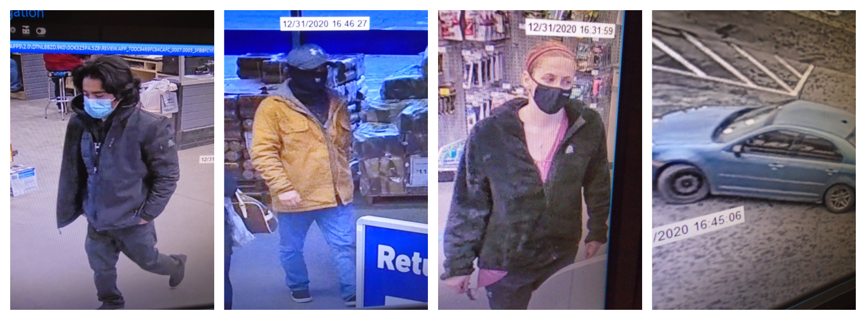 Owasso Police Requesting Assistance Identifying Persons of Interest in Alleged Larceny