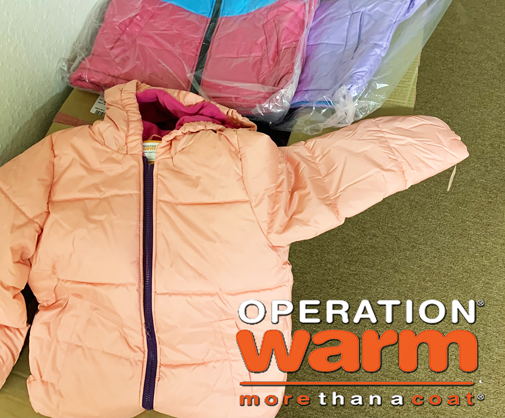 Shake Milton Helps Provide New Coats to Owasso Area Children