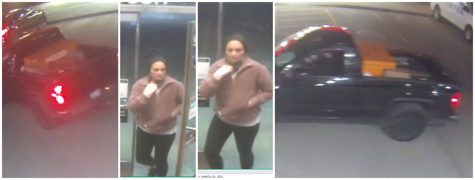 Owasso Police Department Requests Assistance Identifying Auto Burglary Suspect